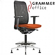 Grammer Office GLOBEline Ring Base High Back Mesh & Microfibre Chair
