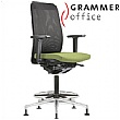 Grammer Office GLOBEline Ring Base High Back Mesh Reception Chair