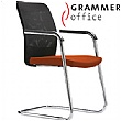 Grammer Office GLOBEline Mesh & Microfibre Cantilever Side Chair