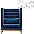 Lyndon Design Arthur High Back Booth