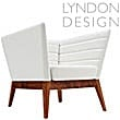 Lyndon Design Callisto Armchair White
