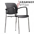 Grammer Office Passu Plastic 4-Leg Side Chair