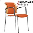 Grammer Office Passu Microfibre Upholstered 4-Leg Side Chair