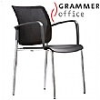 Grammer Office Passu Mesh Back 4-Leg Side Chair