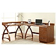 Spectrum Deluxe Real Wood Veneer Desk