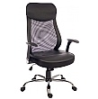 Harrow Mesh Back Executive Chair With Headrest