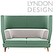 Lyndon Design Entente High Back Sofa - Oak