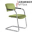 Grammer Office Match Textile Mesh Cantilever Chair