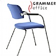 Grammer Office Match Fabric 4 Leg Chair