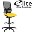 Elite Mix Mesh Back Draughtsman Chair