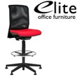 Elite Merge Mesh Back Draughtsman Chair