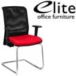 Elite Merge Mesh Back Cantilever Meeting Chair