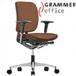 Grammer Office GLOBEline Medium Back Leather Task Chair