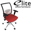 Elite Loreto White Mesh Task Chair