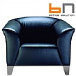 BN Status Luxury Leather Armchair