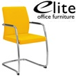 Elite Moda Upholstered Full Back Meeting Chair
