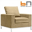 BN Concerto Fabric Reception Armchair