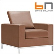 BN Concerto Leather Reception Armchair