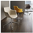 BN Kaika Faux Leather Swivel Conference Chair