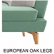 Lyndon Design European Oak Legs - Entente
