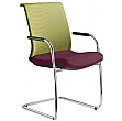 Omega Fabric & Mesh Cantilever Conference Chair