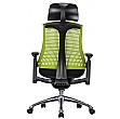 Flash Ergonomic Task Chair With Headrest
