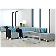 Elite Ella Modular Seating + Ella Small Footstool