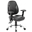 Select Ergonomic Leather Operator Chair
