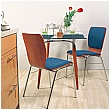 Wing II Padded Bistro Chair (Pack Of 4)