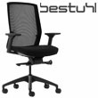Bestuhl J1 Black Mesh Task Chair