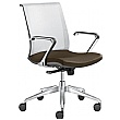 Lyra Net Leather & Mesh Task Chairs