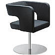 Next Fabric Disc Base Reception Armchairs