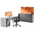 BN Easy Space Rectangular Cantilever Desks With Modesty Panel
