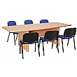 Commerce II Barrel Shaped Meeting Table