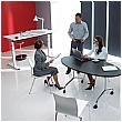 BN Flib Oval Folding Meeting Tables