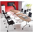 BN Flib Half Oval Folding Meeting Tables