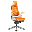 Jett Elastomer Operator Chair - Orange