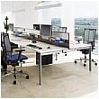 BN SQart Workstation 4 Leg Modular Bench Desks