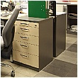 BN Easy Space Desk High Pedestal With Pencil Drawer