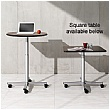 BN SQart Workstation Round Mobile Tables