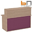 BN Velum Modular Reception - High Straight Unit