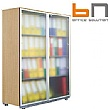 BN Primo Space Veneered Glass Door Cupboard