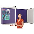 Colour Plus Tamperproof Noticeboards Double Door