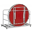 Fast Fold Round Table Trolley