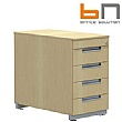 BN Primo Space Desk High Pedestals