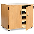 A1 Paper Storage Unit With Doors