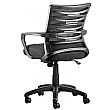 Twister Mesh Task Chair Rear