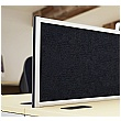 Gresham Mesa Fabric Rectangular Desktop Screens