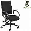 Gresham Platinum Plus Squared Medium Back Office Chair