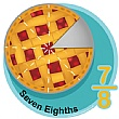 Seven Eighths Fraction Sign
